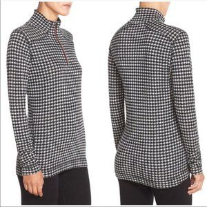 Smartwool Houndstooth 1/4 Zip T Baselayer Pullover